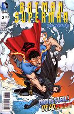 BATMAN SUPERMAN #2 New 52 Superman VARIANT Cover 1:25