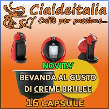 16 capsule Bevanda Creme Brulee Cialdeitalia comp. Nescafè Dolce Gusto