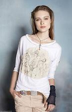 Mehrfarbige 3/4 Arm Damen-Shirts