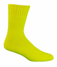 HI VIS EXTRA THICK 92%25 BAMBOO WORK SOCKS ALL SIZES -  BAMBOO TEXTILES