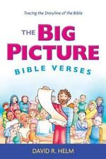 NEW - Big Picture Bible Verses Tracing Storyline of the Bible by David R. Helm