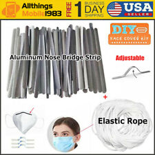 Aluminum Metal Nose Bridge Strip Wire For DIY Mask Bracket Sewing Craft Making