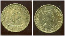 BRITISH  CARAIBES  5 cents 1960