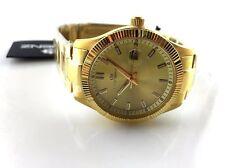 Orologio Uomo watch LORENZ CLASSIC LZ 27031 Bracciale Acciaio Gold laminato oro