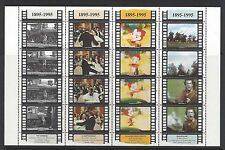 San Marino. Motion picture. 1995. Scott 1338 a-p. Sheet of 16. MNH (BI#16)