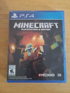 Minecraft (PlayStation 4, ps4 2014)