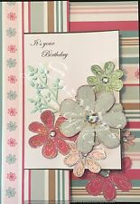 ANY AGE BIRTHDAY DESIGNER GIFT CARD