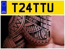 T24 TTU STUDIO TATTOO INKS ARTIST TATS TATTS SHOP BODY ART INKED NUMBER PLATE