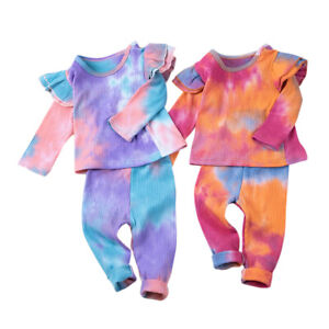 Newborn Baby Girl Stylish Clothes Acid Wash Jumpsuit Tops & Pants (Cotton Blend)