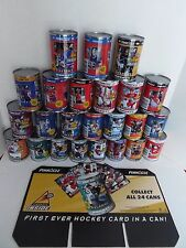 24 Pinnacle Hockey Cards in a Can NHL Complete Set Excellent Condition NOS