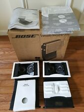 Bose Virtually Invisible 191 in wall in ceiling speakers Pair (d3)