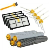 14PCS HEPA Filters Brushes Replacement Parts Kit for IRobot Roomba 980 990  B4X5
