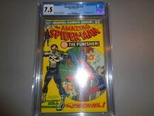 Amazing Spiderman #129 CGC 7.5 1st Punisher and Jackel 1974 Marvel
