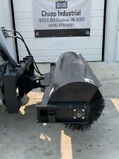 Unused Jct 72 Skid Steer Angle Broom Attachment Industrial Agriculture Industry