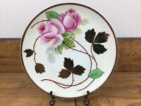 "Vintage Jonroth Studios Germany Hand Painted 8-1/4""  Signed By Artist Fiedler"