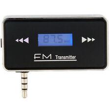ALLMET 3.5mm Wireless Car Jack Stereo Radio FM Transmitter Audio for Smart Phone