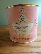 Prince Matchabelli Stradivari Dusting Powder with Puff