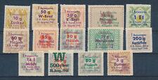Lebensmittelmarken Reisemarke  Französische Zone 1944 Marken  France  WW2 (654