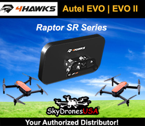 4Hawks Raptor SR Range Extender Antenna | Autel EVO | EVO II