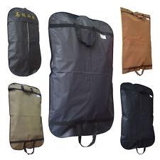 Black Suit Dress Coat Garment Storage Travel Carrier Bags Cover Hanger Protector