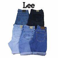 Mens Vintage Lee Denim Shorts Various Colours