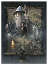 The Hobbit: An Unexpected Journey Paper Giclee