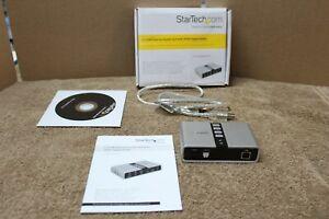 STARTECH 7.1 USB EXTERNAL SOUND CARD WITH SPDIF DIGITAL AUDIO