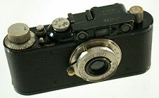 LEICA I Model A no. 16513 year Jahr 1929 modified by Leitz to II D Elmar no no.