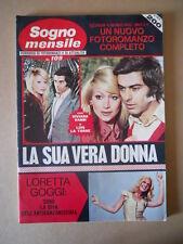 SOGNO MENSILE n°109 1972 Loretta Goggi diva Anti Canzonissima [G734D] BUONO