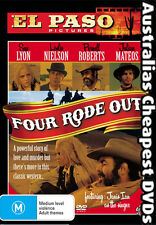 Four Rode Out  DVD NEW, FREE POSTAGE WITHIN AUSTRALIA REGION 4