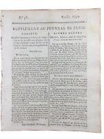 Laforgue Dentiste 1792 Tontine Retraite Journal Révolution Française Assignat