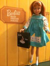 Vintage Barbie Benefit Performance Black Case in Miniature!