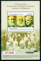 Costa Rica 2019 MNH Free Compulsory Primary Education 150th Anniv 1v M/S Stamps