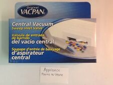 BLACK VACPAN Central Vacuum Automatic Dust Pan NEW. Free Shipping