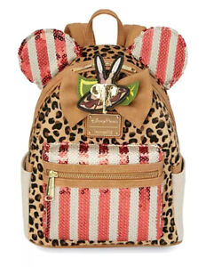 """Disney Loungefly Minnie Mouse Main Attraction November """"Jungle Cruise""""Backpack"""