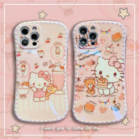 Cartoon Cute Girl hello Kitty Earth Phone Case Cover For iPhone12 Pro Max XR 11