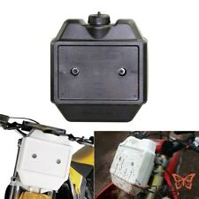 Motorcycle 1.3 Gal Front Fork Mount Auxiliary Gas Fuel Tank For Honda Suzuki KTM