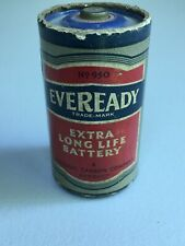 """Vintage Eveready 950 """"D"""" Cell Battery Dated 1947"""