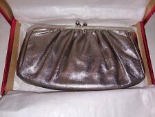Express - Silver Evening Bag Clutch, Formalwear Purse (C1-A5)