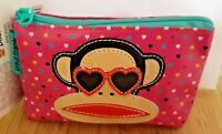 Brand New**Paul Frank Lip Smacker**Pink Coin Purse with Lip Gloss
