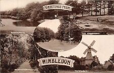 POSTCARD    LONDON   WIMBLEDON  Greetings    RP