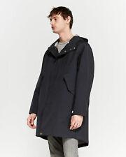 PARKA LONDON JAYDEN RAIN COAT PARKA NAVY BLUE  SIZE L / XL RETAIL £250
