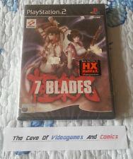 7 Blades - PS2 - Edizione Italiana-sigillato-pal ita (ps3retrocomp)