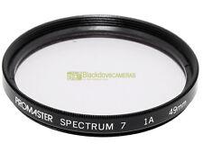49mm. filtro Skylight 1A Promaster Spectrum 7