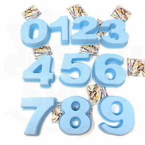 Backform Silikon Zahl 0 1 2 3 4 5 6 7 8 9 Zahlen kleine Kuchenform Geburtstag