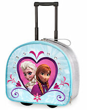 Disney Store Frozen Elsa Anna Luggage Trolley Carry On