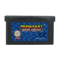 Mario Kart Super Circuit GBA Game Boy Advance Cartridge EU English