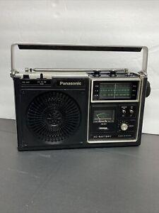 Vtg PANASONIC RF-1080 AM/FM/Public Service Band Portable Radio PSB Japan 3-band