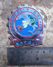 VESPA CLUB NAPOLI Metall Plakette PLACCA BADGE ITALIA PLAQUE GS 150 160 FOR SALE