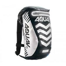 Oxford Aqua V12 Motorbike Motorcycle Back Pack Rucksack Black Luggage Bag 12l